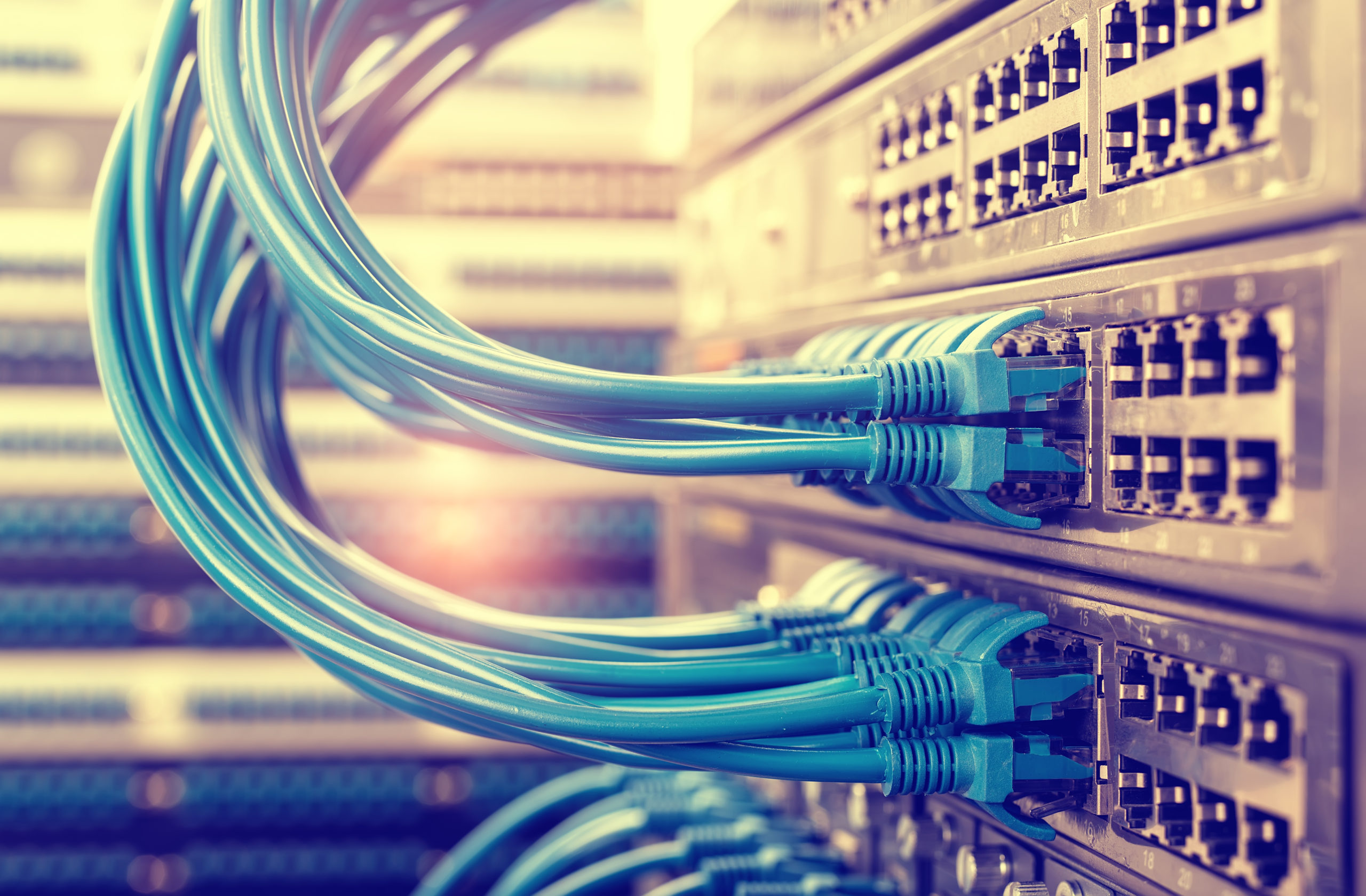 Data Center Cabling & Switches